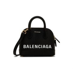 Balenciaga canary Black Ville XXS leather
