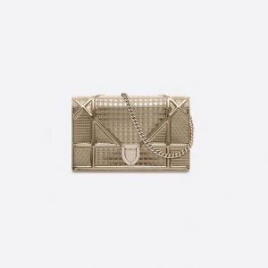 Dior-Diorama-Micro-Cannage-Chain-Walle-gold
